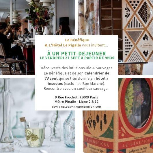 Amandine Kirion Relations Presse Thé Infusions Le Bénéfique