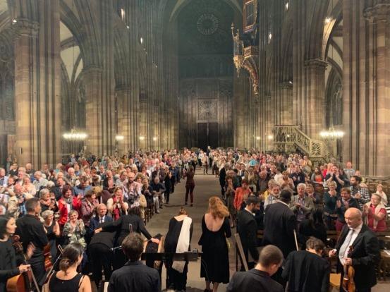 Concert Sans frontières Berlin Cathédrale de Strasbourg