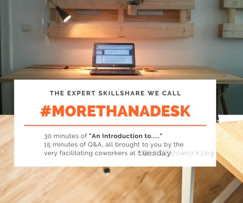 morethanadesk PR Amandine Kirion Tuesday Coworking